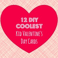 12 DIY Coolest Kid Valentine's Day Cards