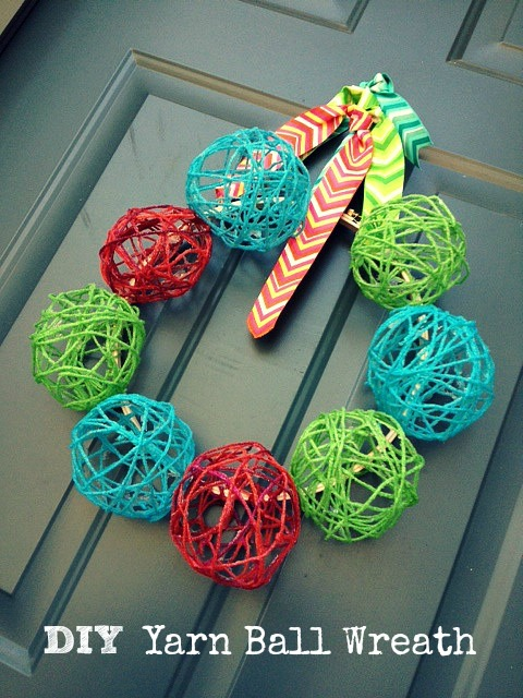 yarn wreath 6.1