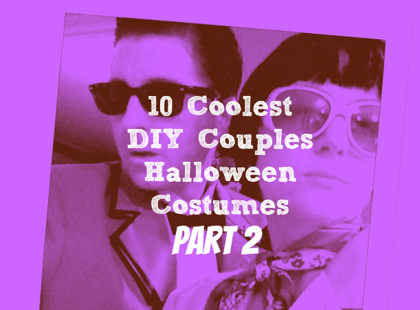 10 Coolest DIY Halloween Couples Costumes - Part 2