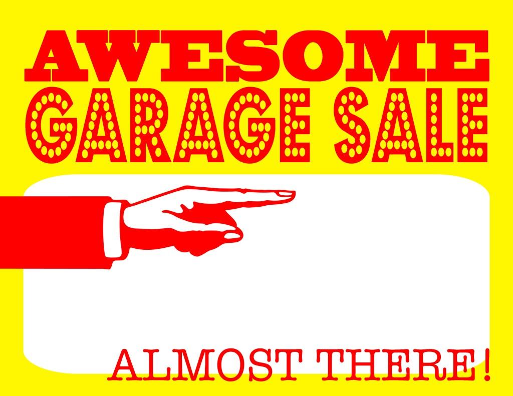 garage sale 3