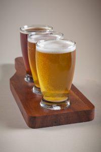 Wooden Beer Flight Holders | Culinary Wood Designs