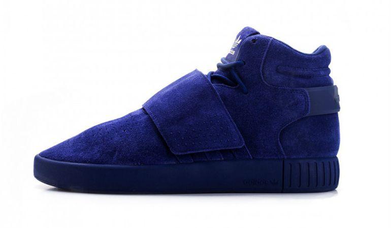 "adidas releases the Tubular Invader Strap ""Dark Blue"""