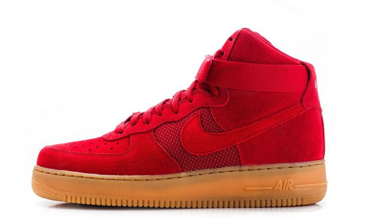 "Nike Air Force 1 High '07 LV8 ""Gym Red"""