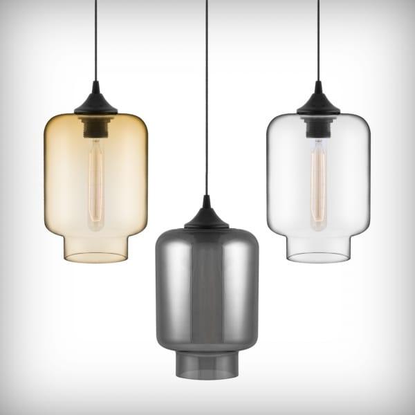 Edison Bulbs + Glass Pendant LightsCult Furniture Blog