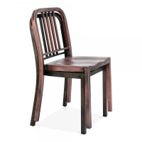 Metal Dining Chair 1006 Rustic | Restaurant Chairs | Cult UK