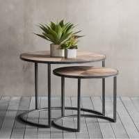 Fulton Set of 2 Nesting Coffee Tables | Modern Side Tables