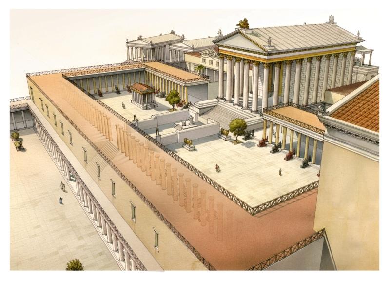 Domus Augusta Rome Pinterest Rome, Roman And Ancient Rome   Creation De  Maison 3d