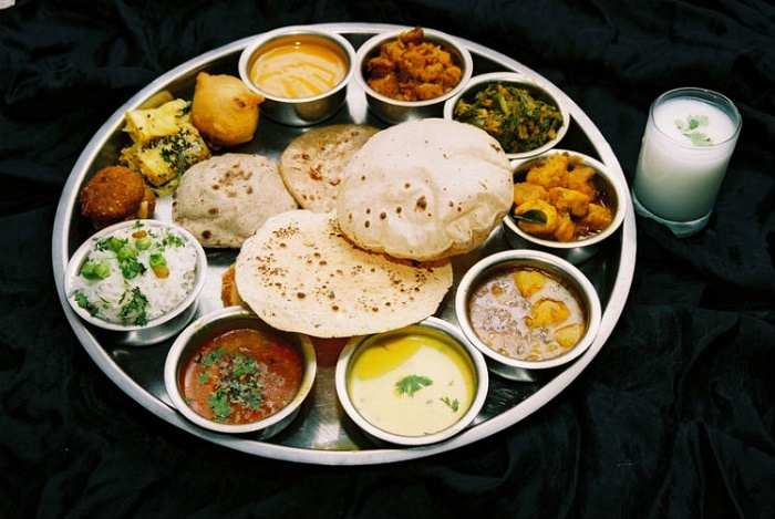 Traditional Gujarati Food Cuisine