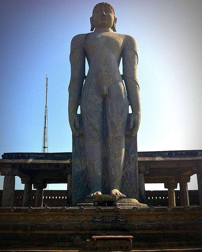 Sculpture Hd Wallpapers Statue Of Gommateshwara Bahubali Sravanbelagola