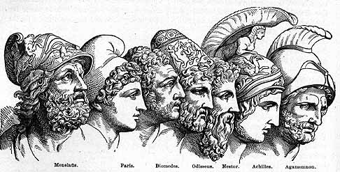 heroes in the odyssey essays