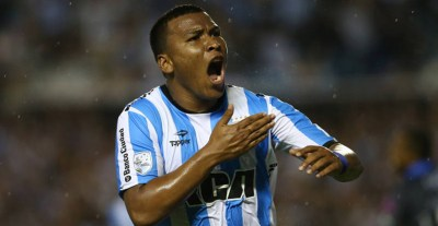 El colombiano ya gritó varios goles en Argentina