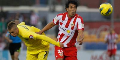 Almería, un paso clave en la carrera de Leonardo Ulloa.