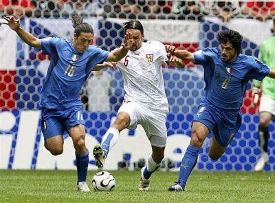 Italia. Lippi. Camoranesi. Gattuso. 2006. Campeones.