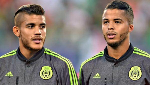 Los hermanos Dos Santos no cuentan para Osorio