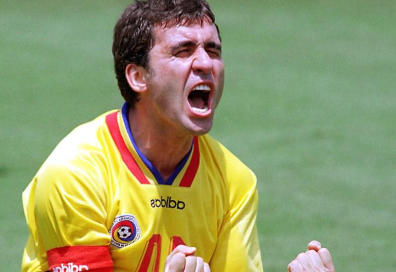 Jugadores noventosos: Gheorghe Hagi