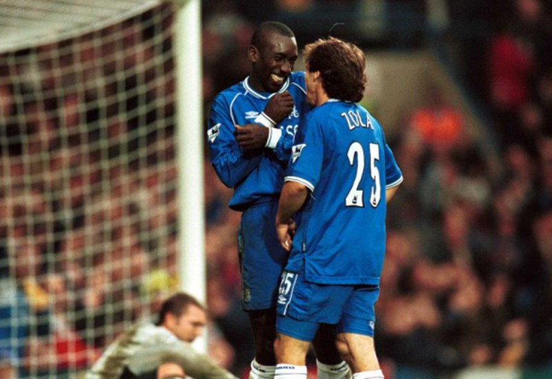 Grandes duplas: Zola-Hasselbaink