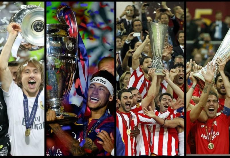 El reinado de los equipos españoles en Europa