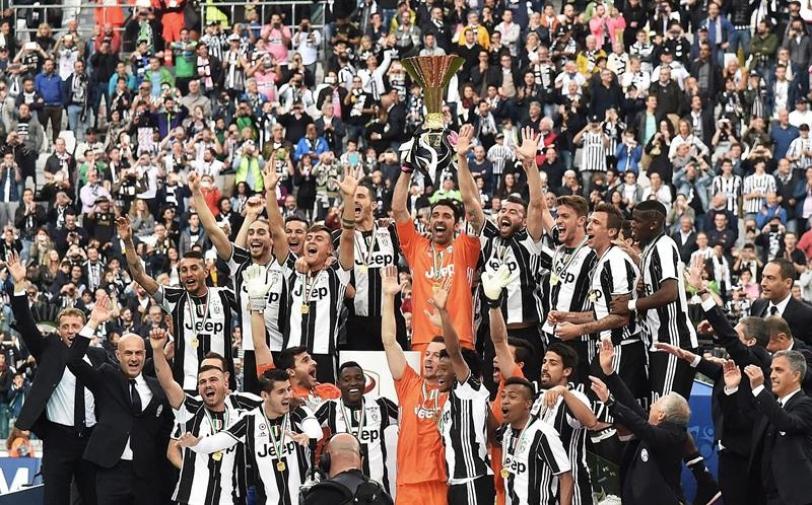 La monotonía. Juventus campeón por quinta vez consecutiva.