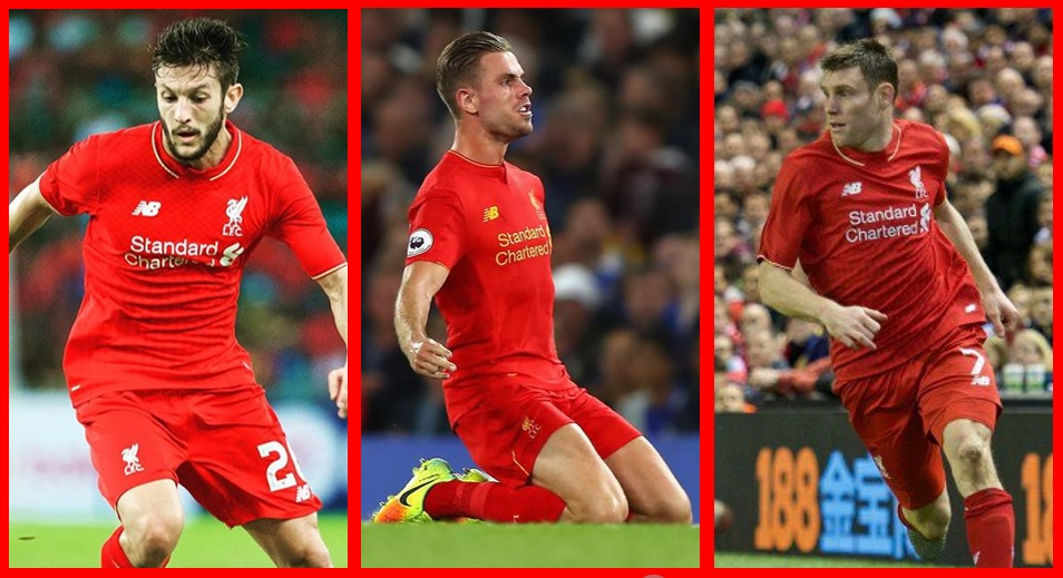 Lallana, Henderson y Milner, fundamentales.