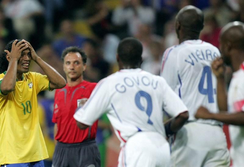 ¿Cómo fue el Francia-Brasil del 2006?