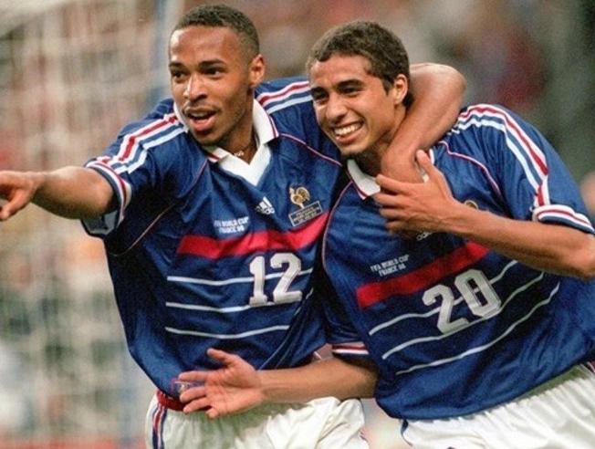 Henry y Trezeguet, del Sub-20 a campeones del mundo.