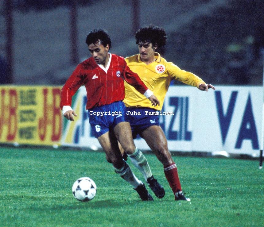 Pizarro, otro de los grandes de Chile.