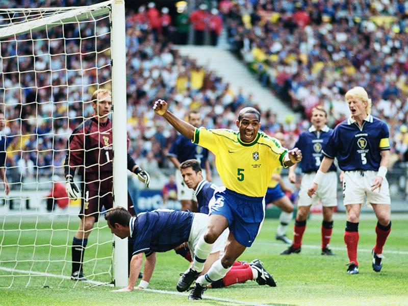 Su última participación en un Mundial: Francia 1998