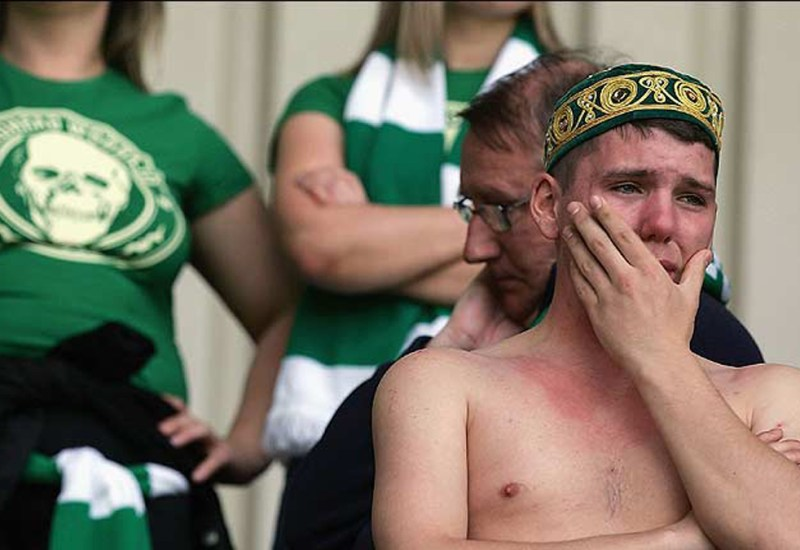 Escocia triste