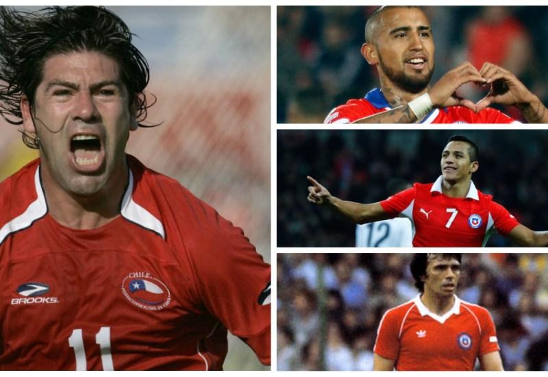 Grandes futbolistas chilenos de las últimas décadas