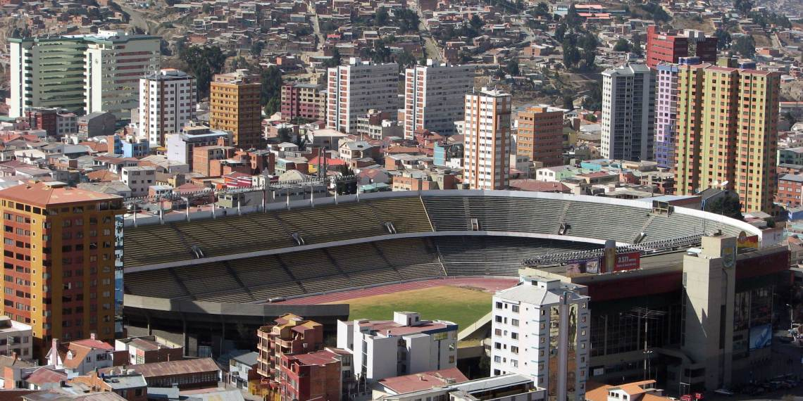 El nuevo Hernando Siles: Escenario de la Selección Mayor de Bolivia.