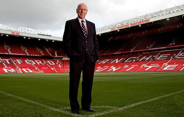 Sir Bobby Charlton. Todo un emblema de Manchester United