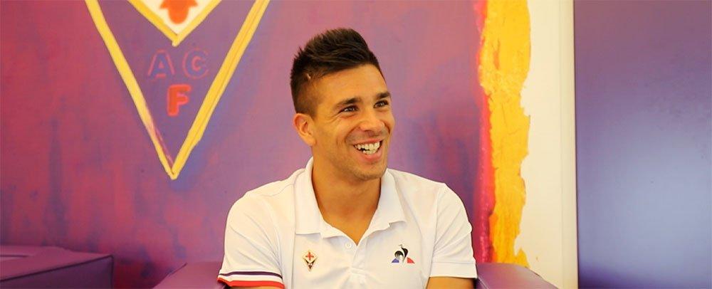 Simeone llevó sus goles a la Fiorentina.