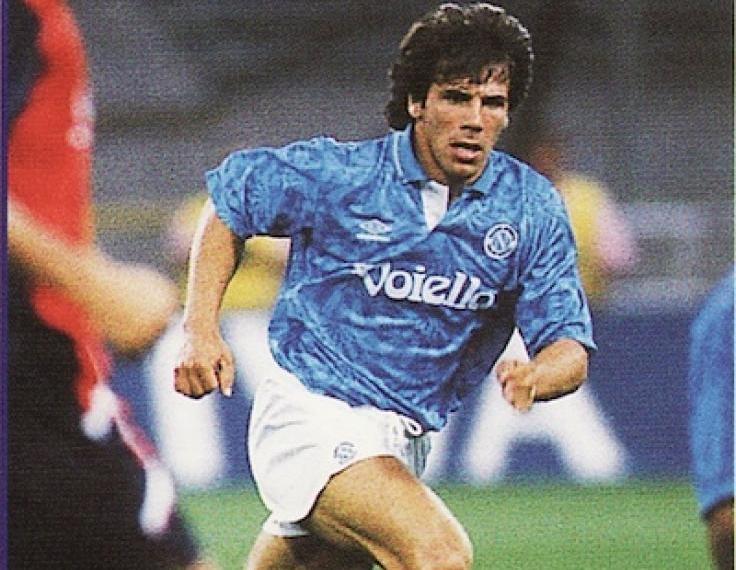Zola y su pase por el Napoli.