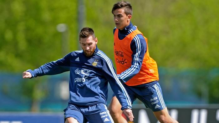 Dybala Messi
