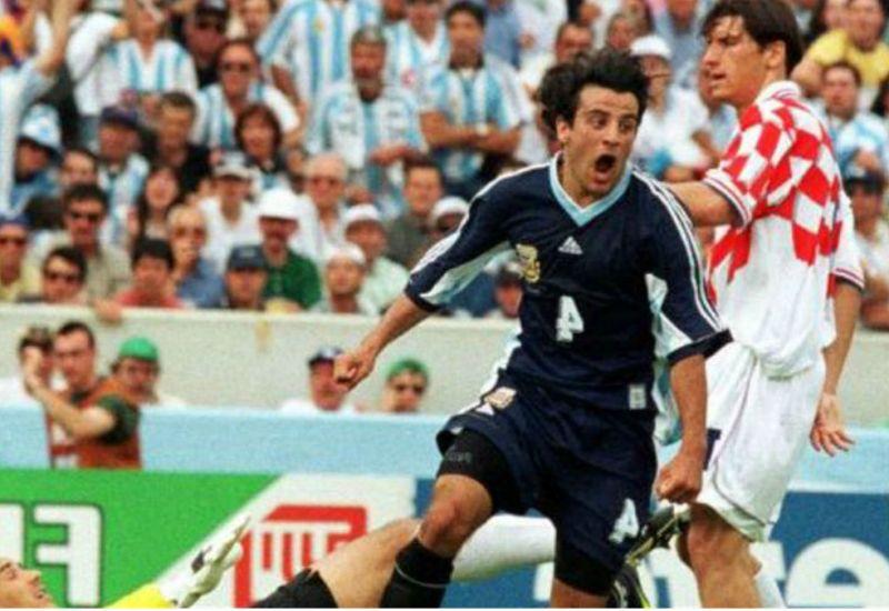 Partidos mundialistas: Argentina vs Croacia (1998)