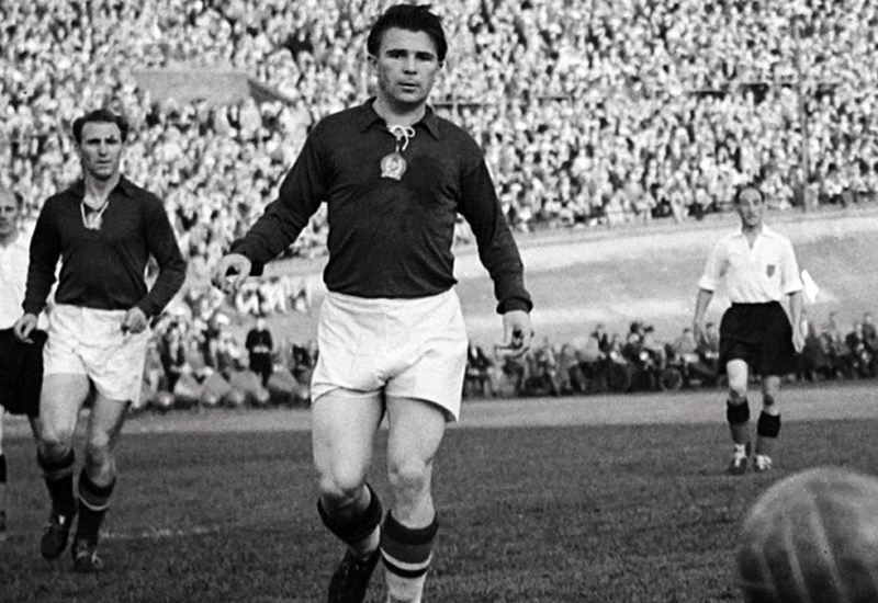 Ferenc Puskas suiza 1954