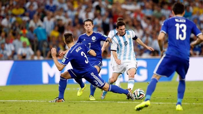 15 06 14 ARGENTINA VS BOSNIA FOTOS JUAN MANUEL FOGLIA / ENVIADO ESPECIAL - FTP CLARIN - Foglia01054.JPG - FTP BRASIL 2014 - BRASIL2014