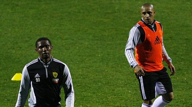 Eto'o Roberto Carlos Anzhi