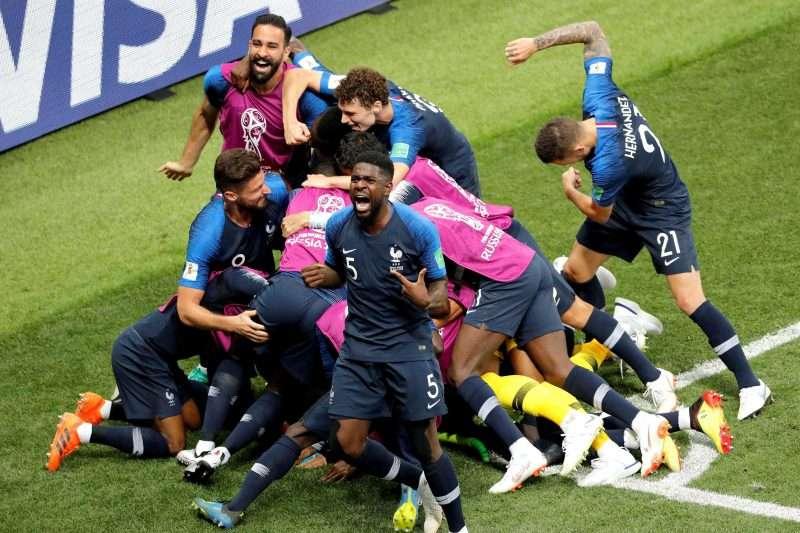 Francia campeón Rusia 2018
