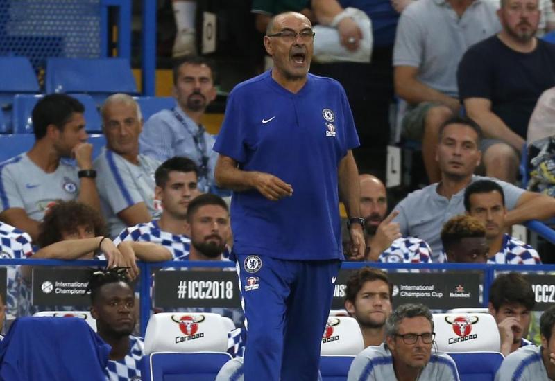 Maurizio Sarri en el Chelsea y la Premier League