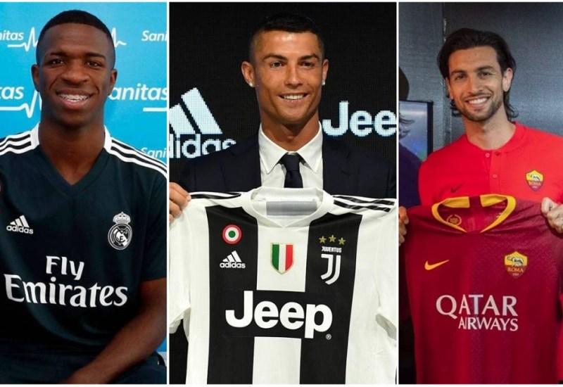 Recopilación de transfers, temporada 2018/19: veranos español e italiano