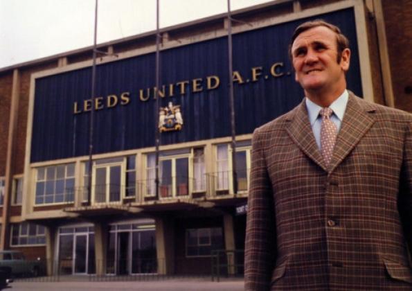 Don Revie, una leyenda del Leeds.