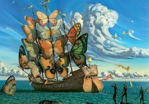 ¿Así habrá llegado Colón a América?