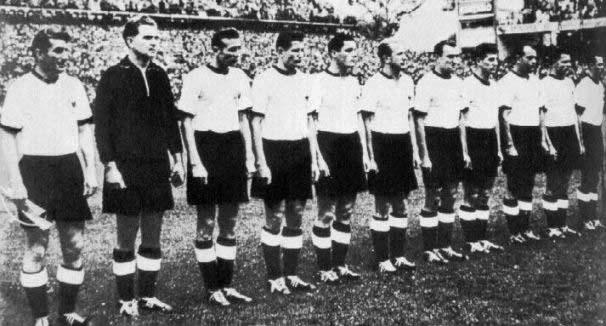 Alemania Federal ganó el Mundial 1954