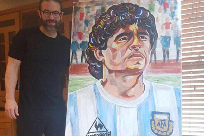 Fondato cuadro Maradona