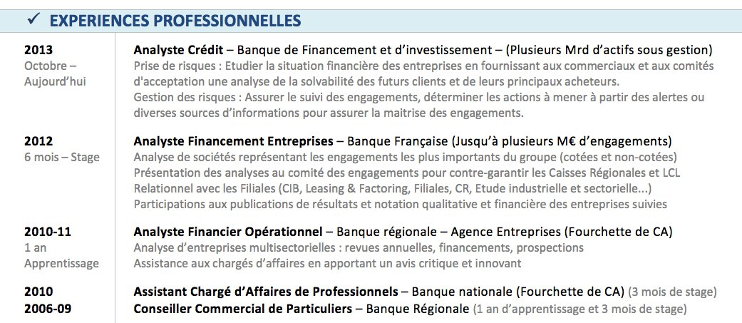 competences professionnelles cv culture