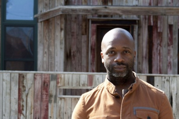 Theaster Gates (photo by Sarah Pooley)
