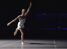 "Screen shot of Wendy Whelan from Lisa Rinehart's ""Moving Forward"""
