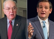 Jesse Helms and Ted Cruz