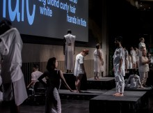 Formal installation to be duplicated at Skirball: photo by Marco Purroy